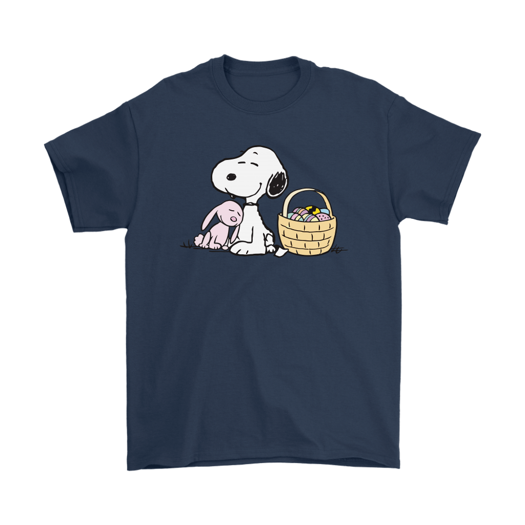 Happy Easter Beagle And Bunny Snoopy Shirts 3