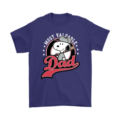 Happy Father's Day Most Valuable Dad Snoopy Shirts 17