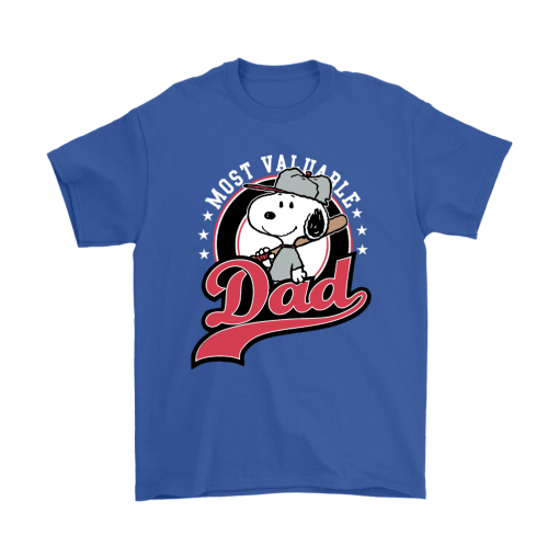 Happy Father's Day Most Valuable Dad Snoopy Shirts 5