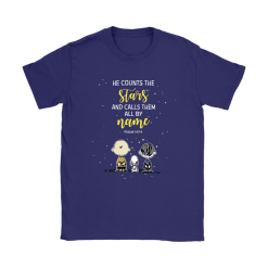 He Counts The Stars And Calls Them All By Name Snoopy Shirts 15