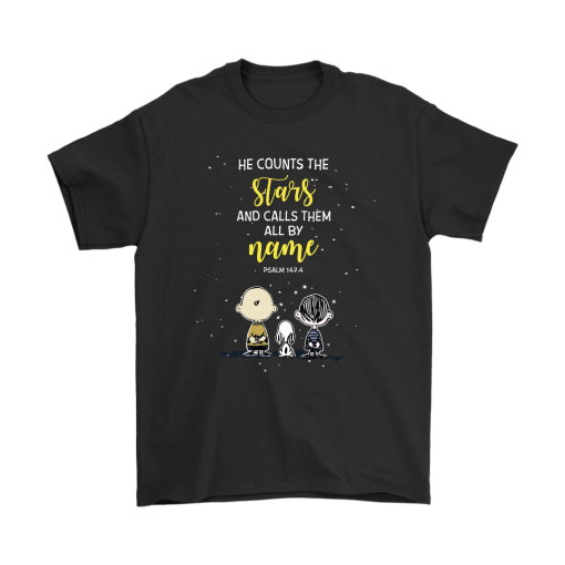 He Counts The Stars And Calls Them All By Name Snoopy Shirts 1