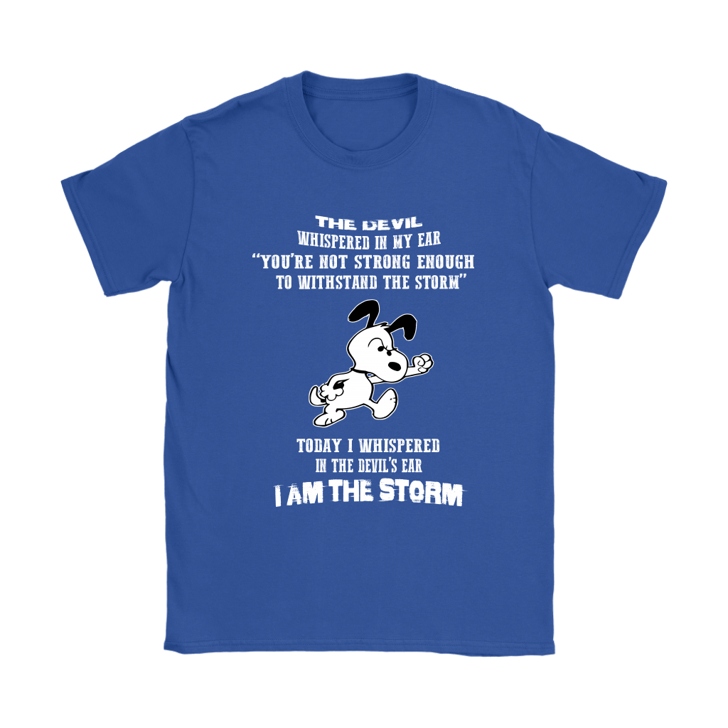I Am The Storm Snoopy Shirts 11