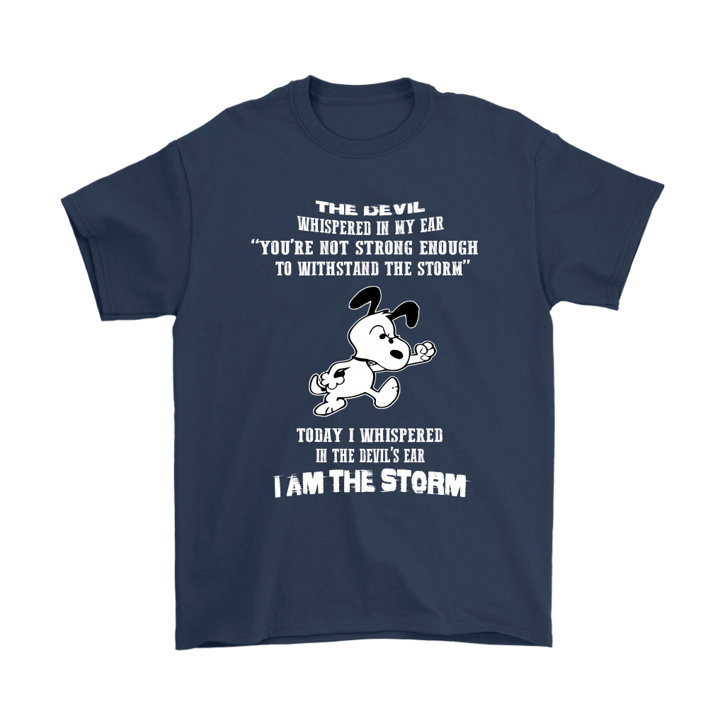 I Am The Storm Snoopy Shirts 3