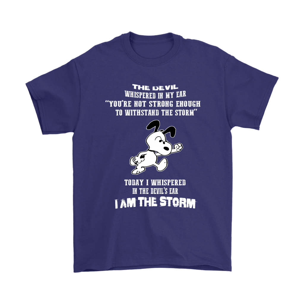 I Am The Storm Snoopy Shirts 4