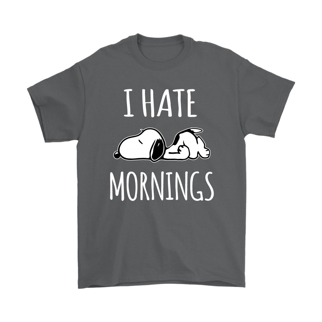 I Hate Morning Tired Snoopy Shirts 2