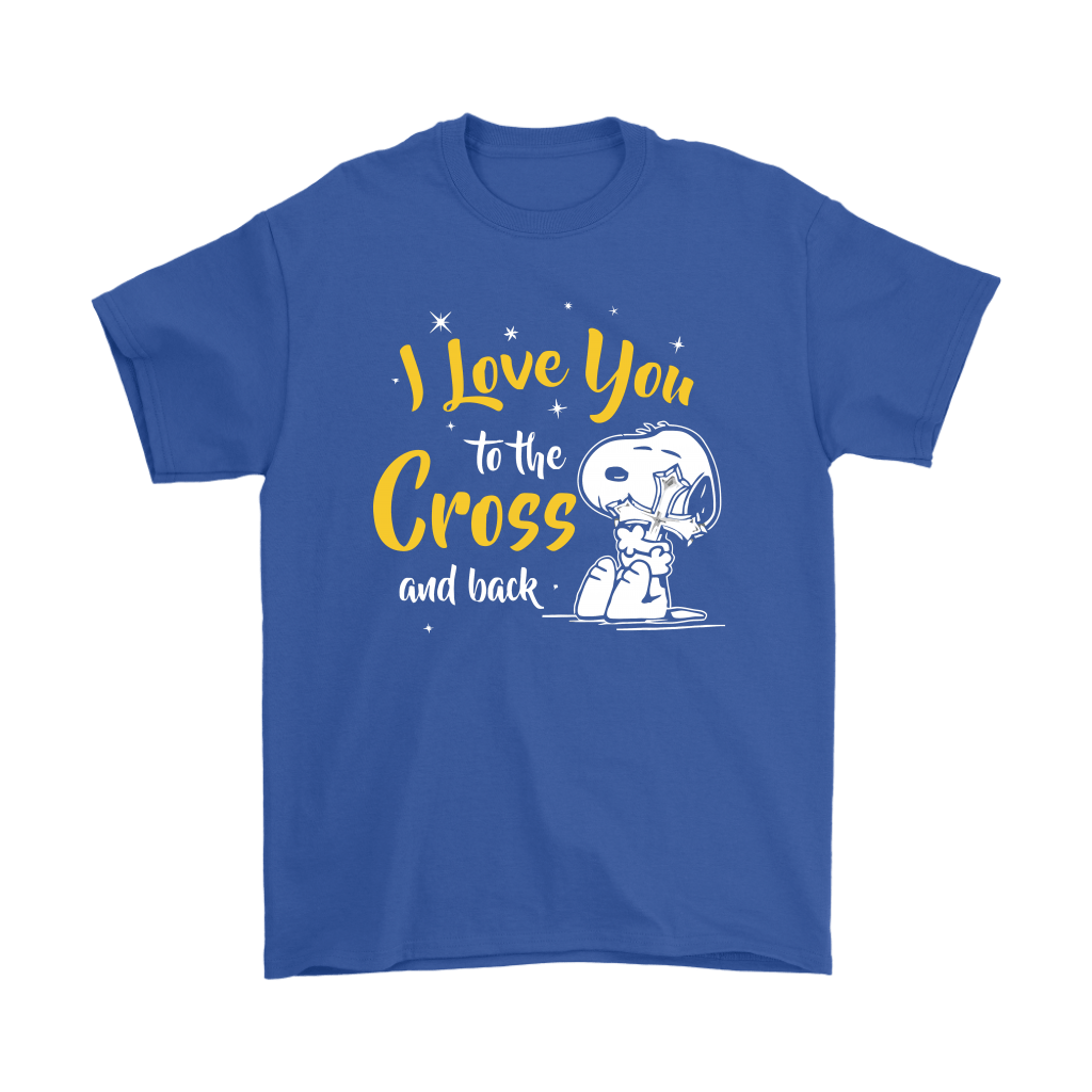 I Love You To The Cross And Back Snoopy Shirts 5