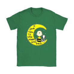 I Love You To The Moon And Back Charlie Brown And Snoopy Shirts 23