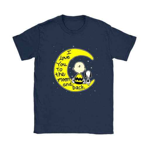 I Love You To The Moon And Back Charlie Brown And Snoopy Shirts 9