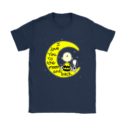 I Love You To The Moon And Back Charlie Brown And Snoopy Shirts 20