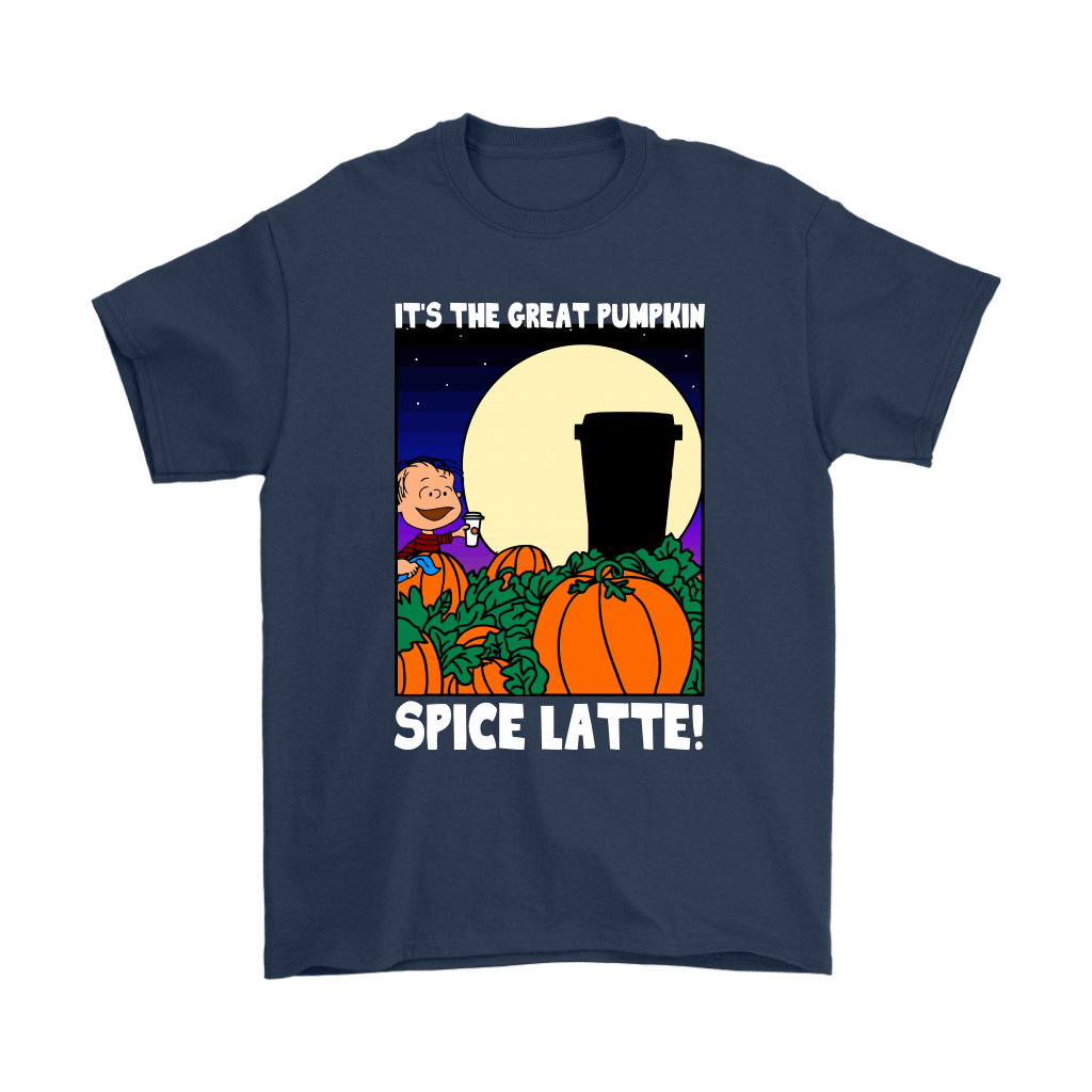 It's The Great Pumpkin Spice Latte Happy Halloween Snoopy Shirts 3