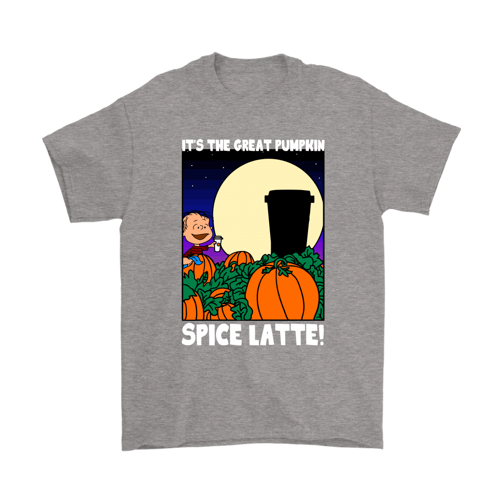 It's The Great Pumpkin Spice Latte Happy Halloween Snoopy Shirts 7