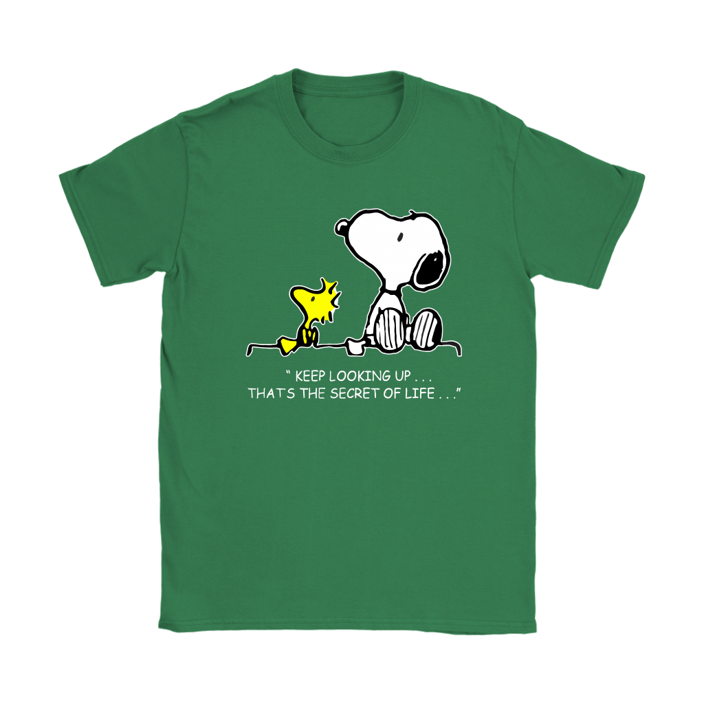 Keep Looking Up Thats The Secret Of Life Snoopy Shirts 14