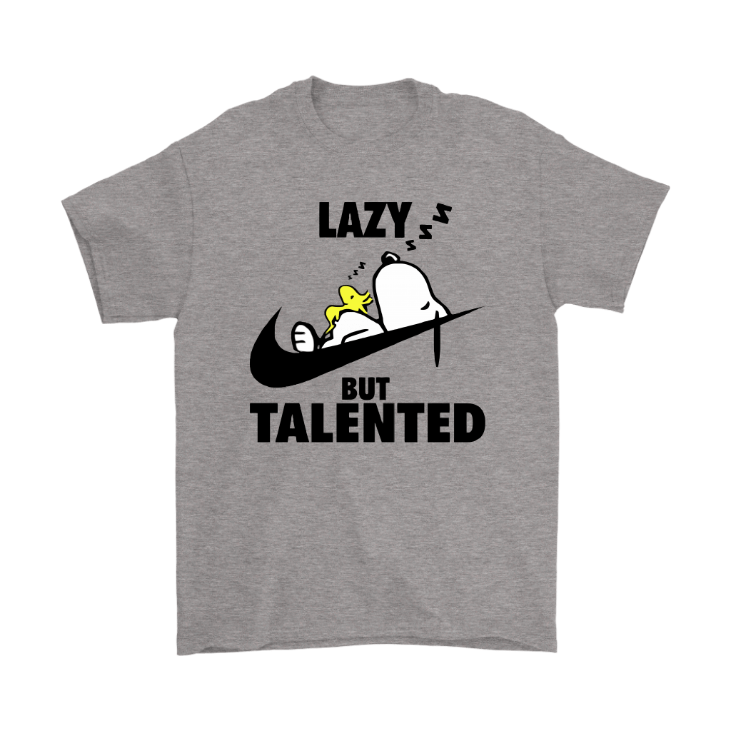 Lazy But Talented Snoopy Shirts 1