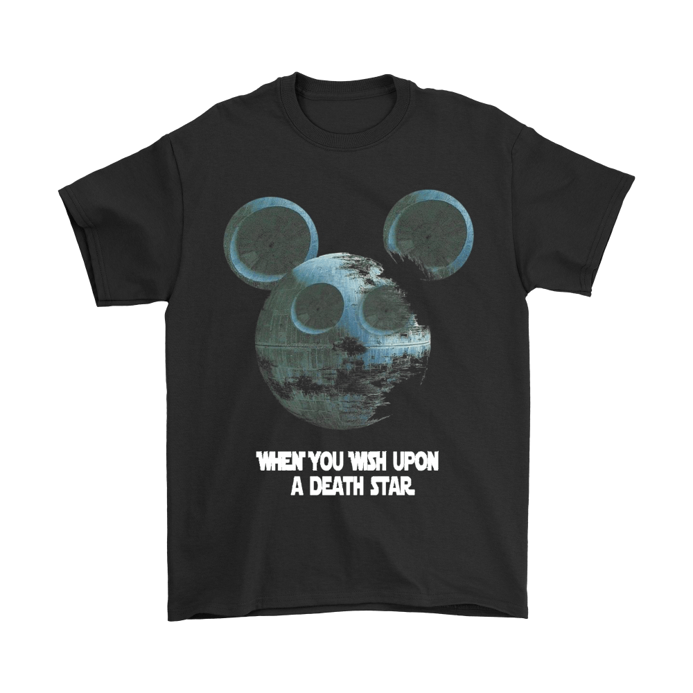 Mickey Star Wars When You Wish Upon A Death Star Shirts 1