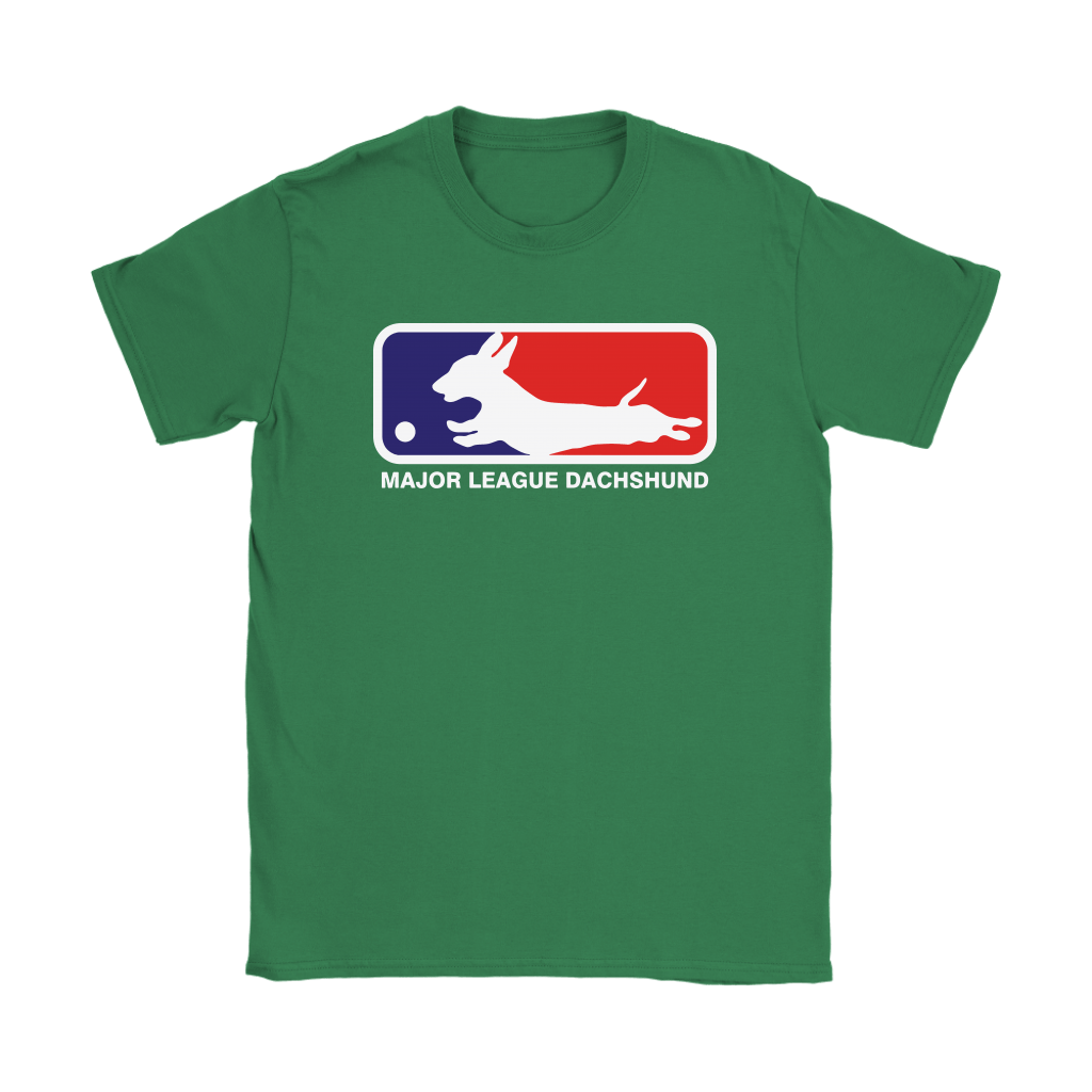 MLB - Major League Dachshund For Dog Lover Shirts 12