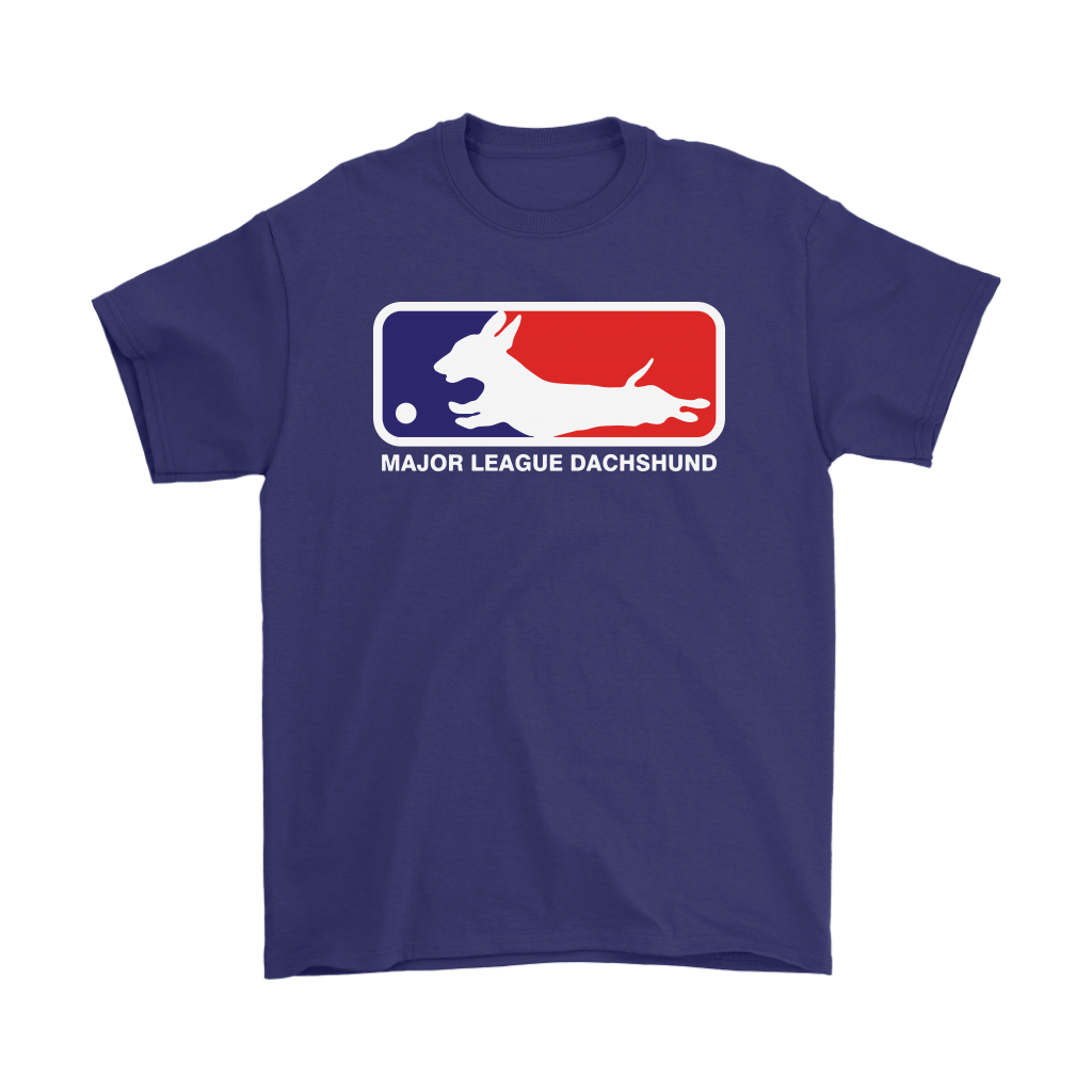 MLB - Major League Dachshund For Dog Lover Shirts 4