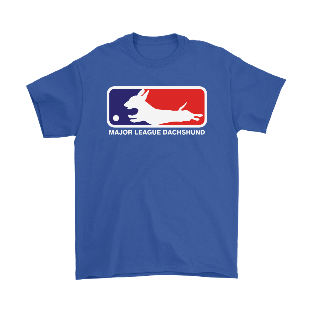 MLB - Major League Dachshund For Dog Lover Shirts 5