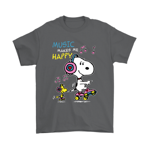 Music Make Me Happy Snoopy Shirts 2