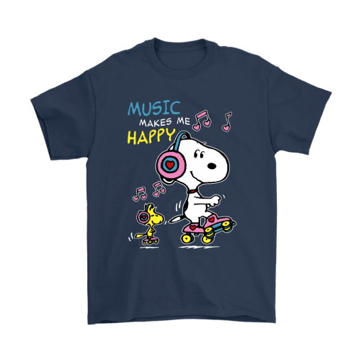 Music Make Me Happy Snoopy Shirts 3