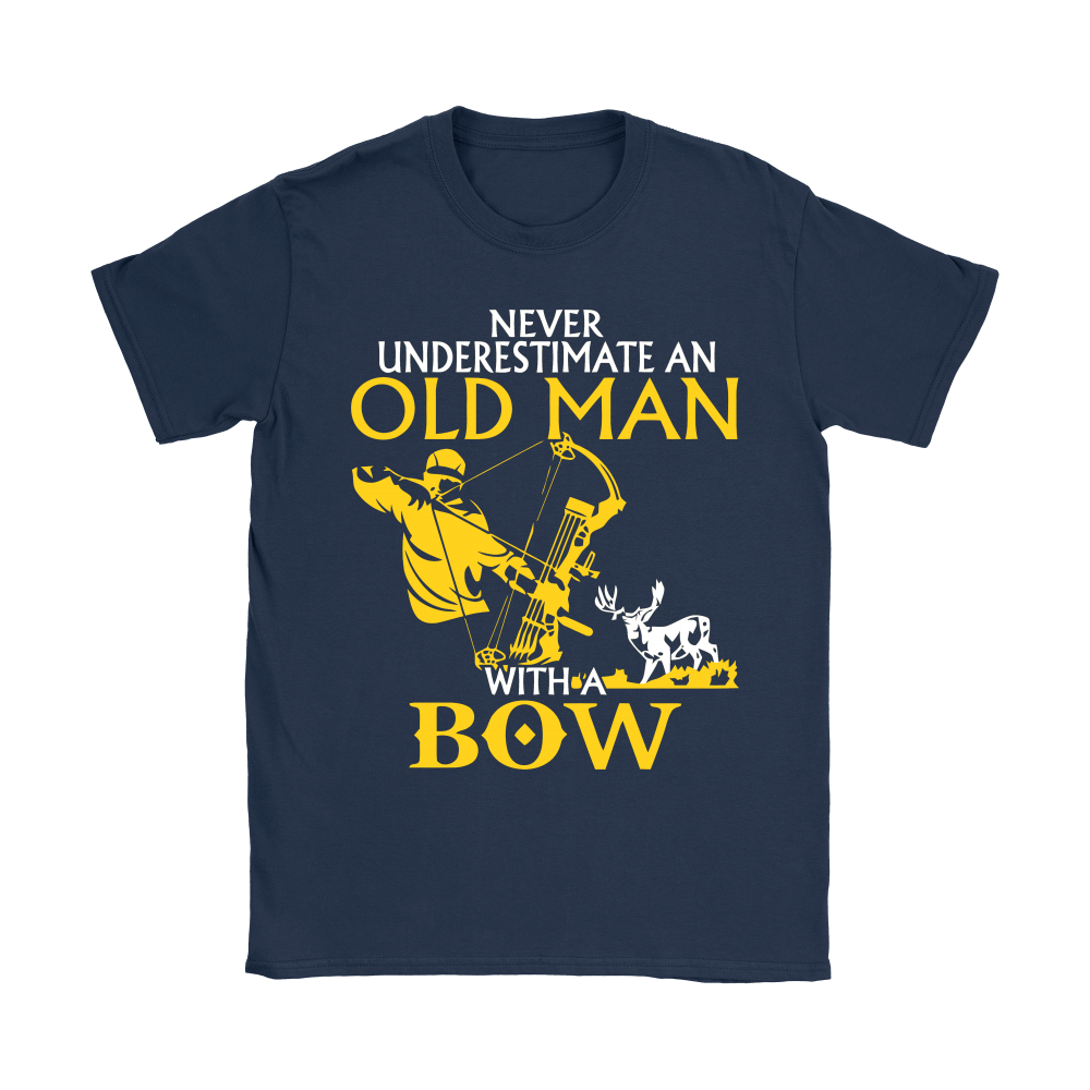 Never Underestimate An Old Man With A Bow Shirts 9