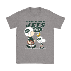 New York Jets Let's Play Football Together Snoopy NFL Shirts 26