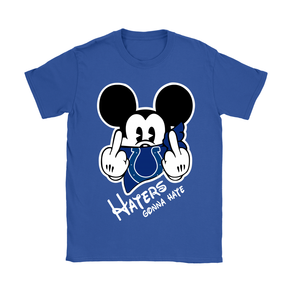 NFL Mickey Team Indianapolis Colts Haters Gonna Hate Shirts 14
