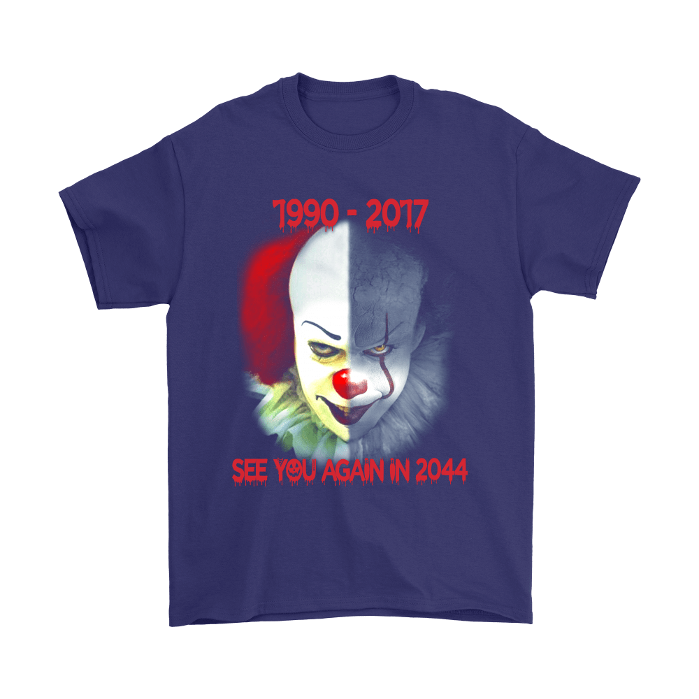 Pennywise See You Again In 2044 IT Stephen King Shirts 4