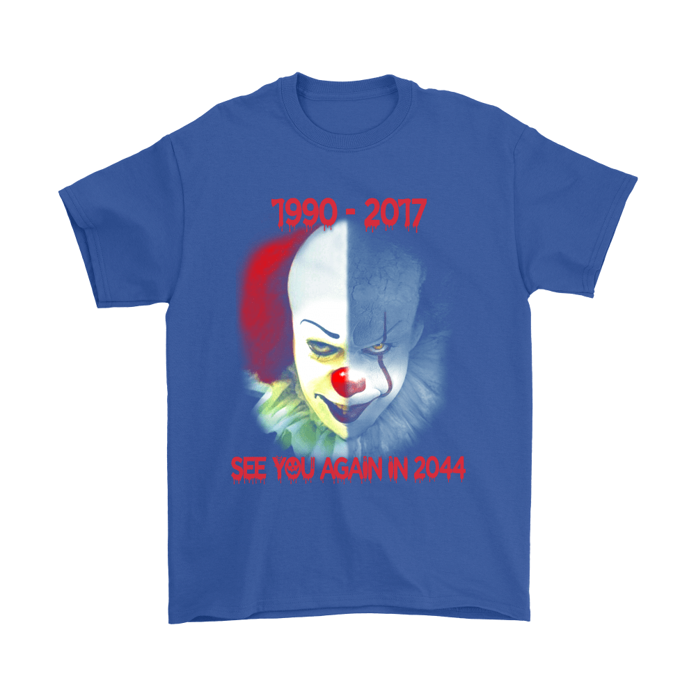 Pennywise See You Again In 2044 IT Stephen King Shirts 5
