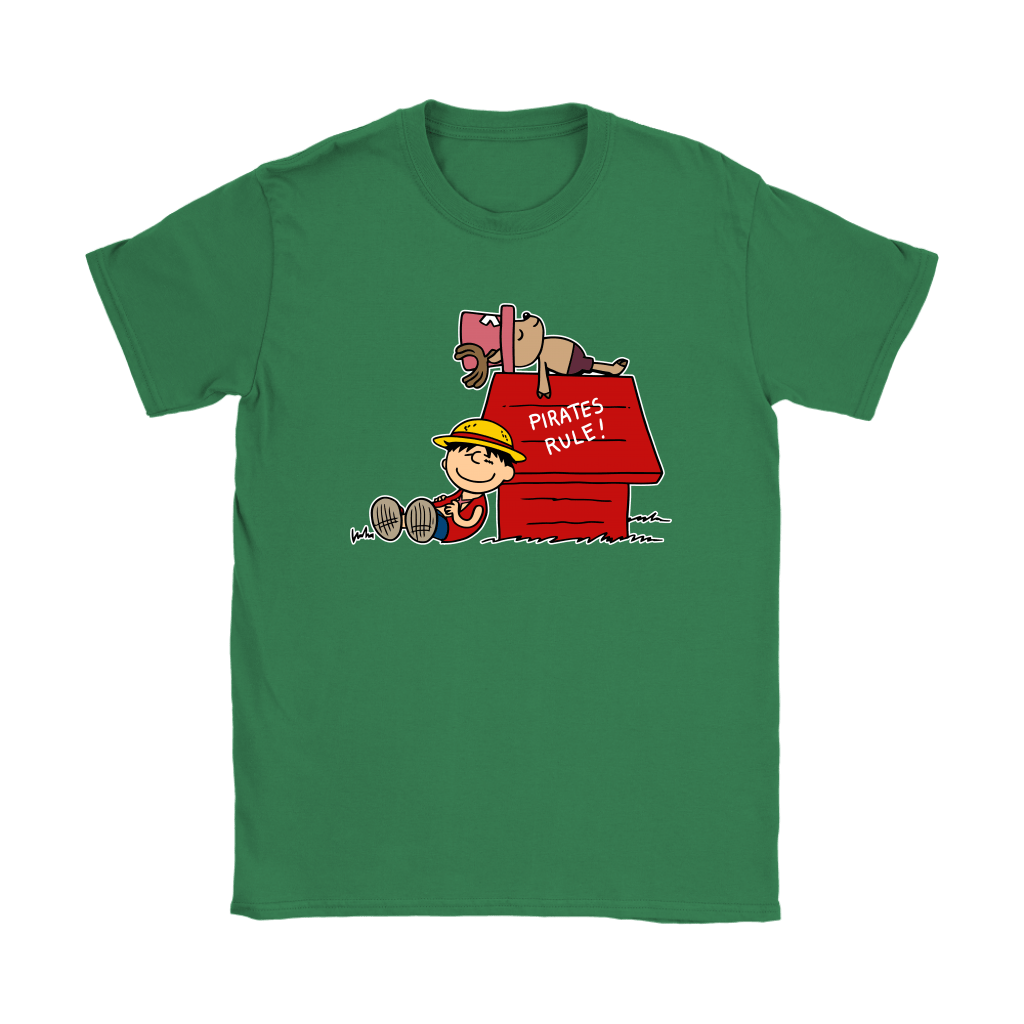 Pirates Rule One Piece Mashup Snoopy Shirts 14