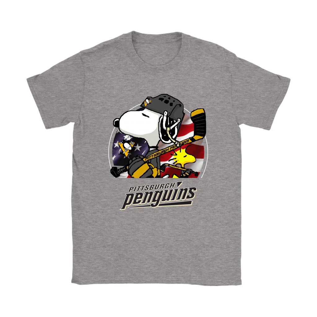Pittsburgh Penguins Ice Hockey Snoopy And Woodstock NHL Shirts 12
