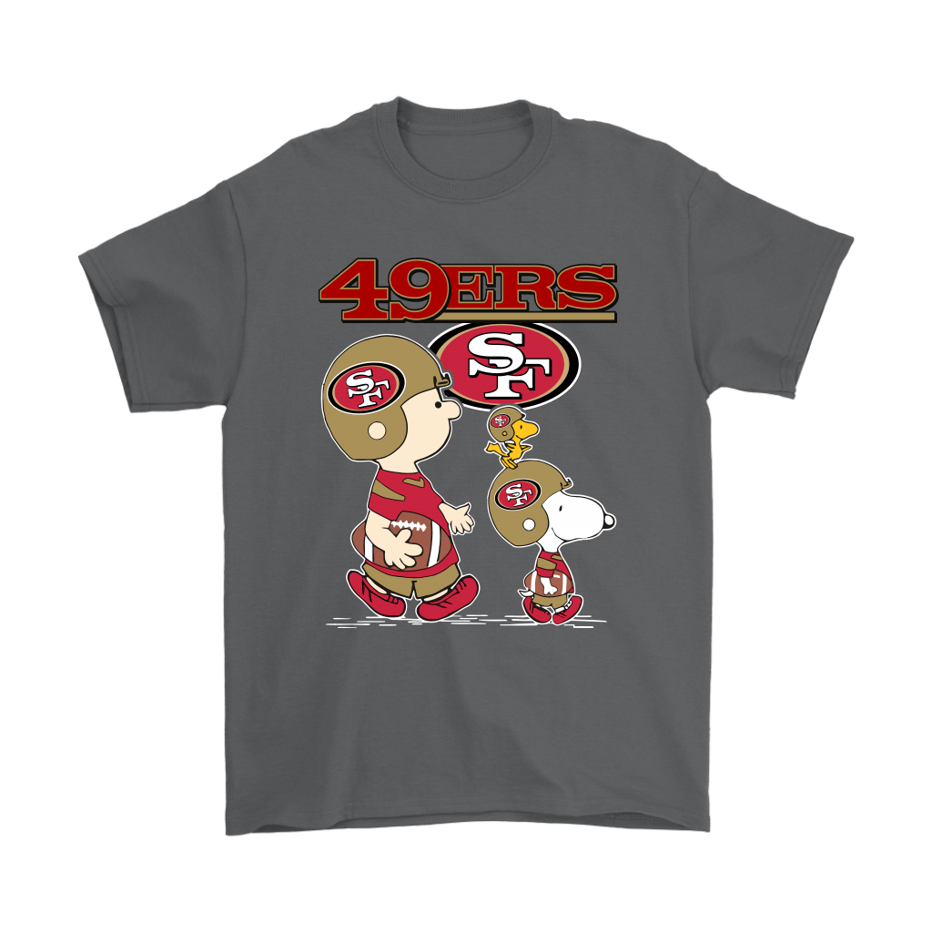San Francisco 49ers Lets Play Football Together Snoopy Nfl Shirts