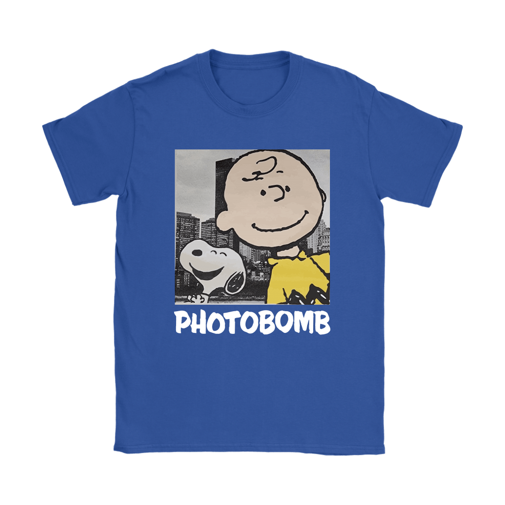 Selfie Photobomb Charlie Brown And Snoopy Shirts 13