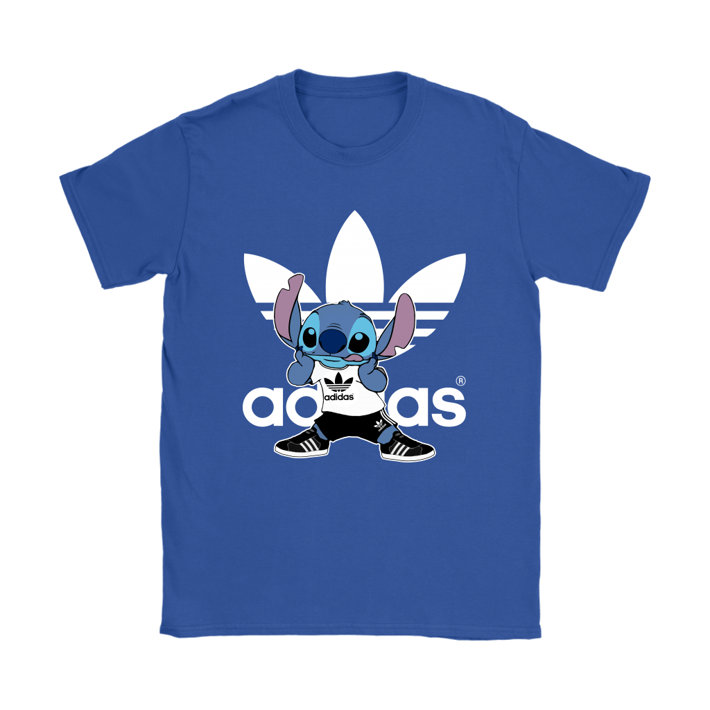 Sporty Stitch Disney x Adidas Mashup Shirts 13