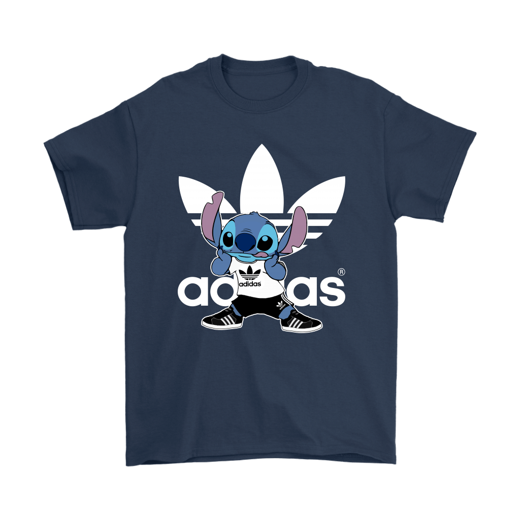 Sporty Stitch Disney x Adidas Mashup Shirts 3