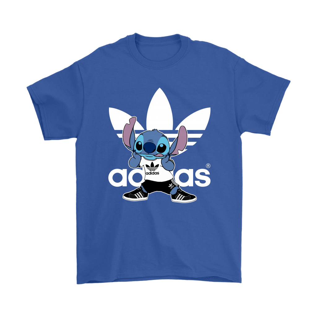 Sporty Stitch Disney x Adidas Mashup Shirts 6