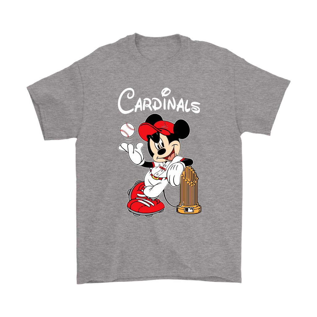 St. Louis Cardinals Mickey Taking The Trophy MLB 2018 Shirts 7