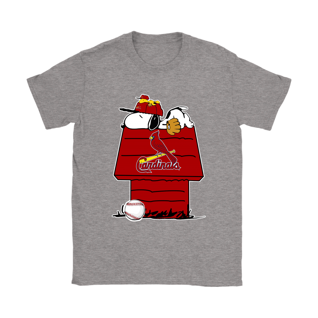 St. Louis Cardinals Snoopy And Woodstock Resting Together MLB Shirts 12