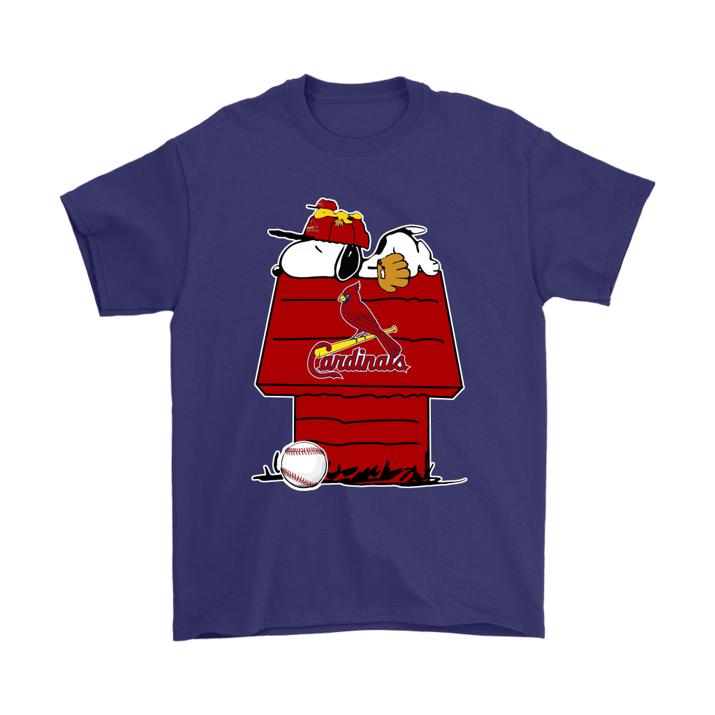 St. Louis Cardinals Snoopy And Woodstock Resting Together MLB Shirts 4