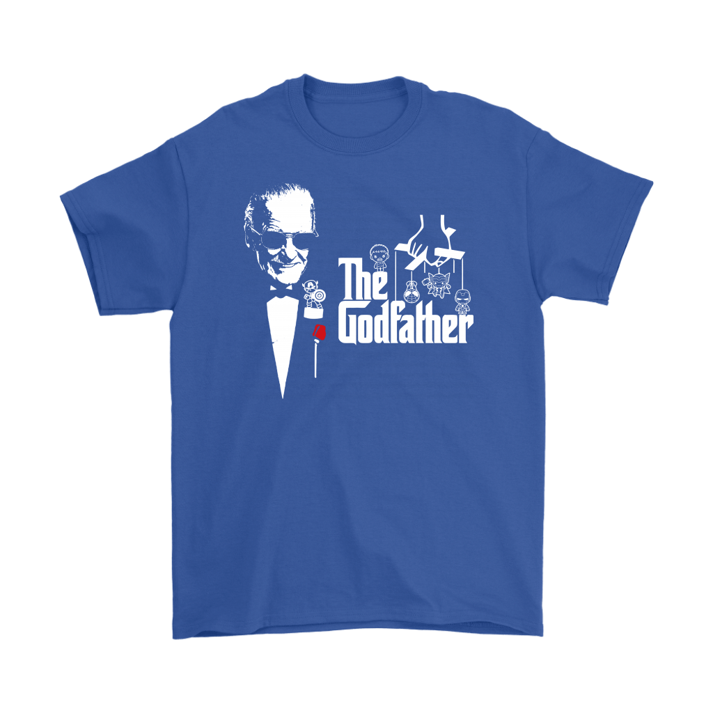 Stan Lee The Godfather Of Marvel Heroes Shirts 5