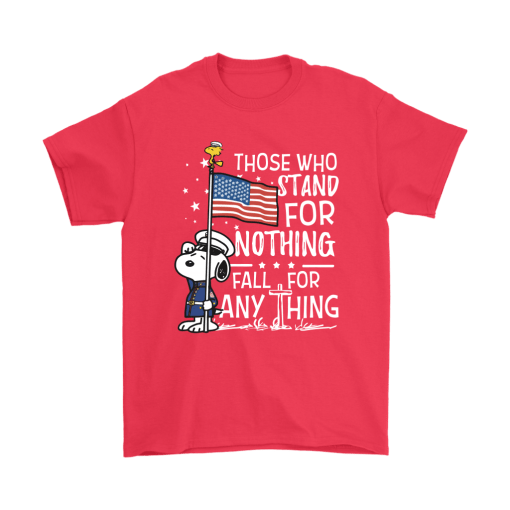 Stand For Nothing Fall For Anything U.S. Veteran Snoopy Shirts 5