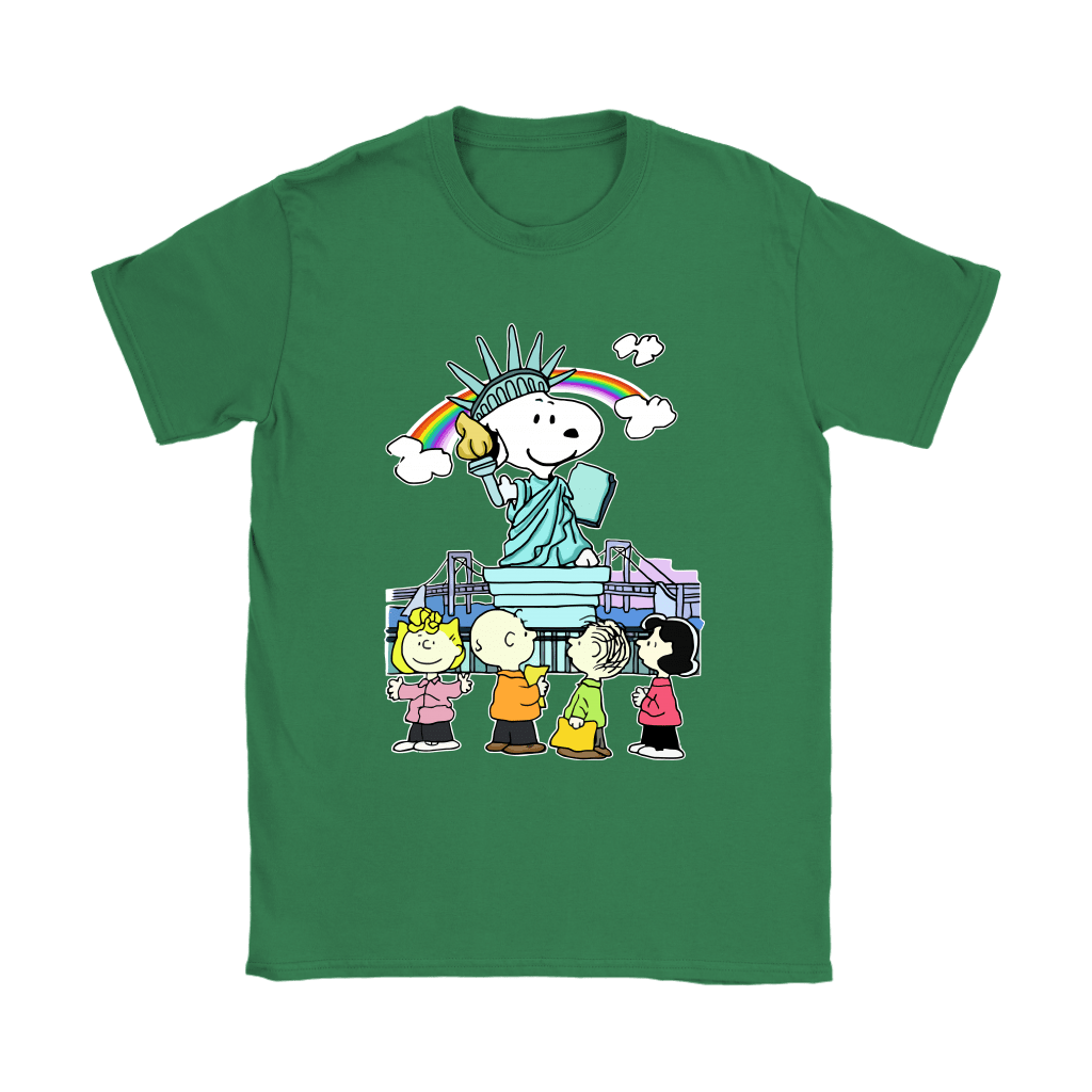Statue Of Liberty Snoopy Shirts 14