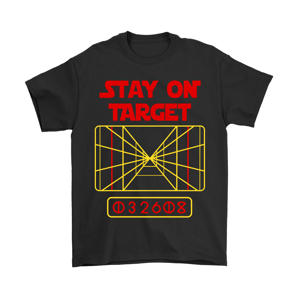 Stay On Target Distance 032608 Star Wars Shirts 1