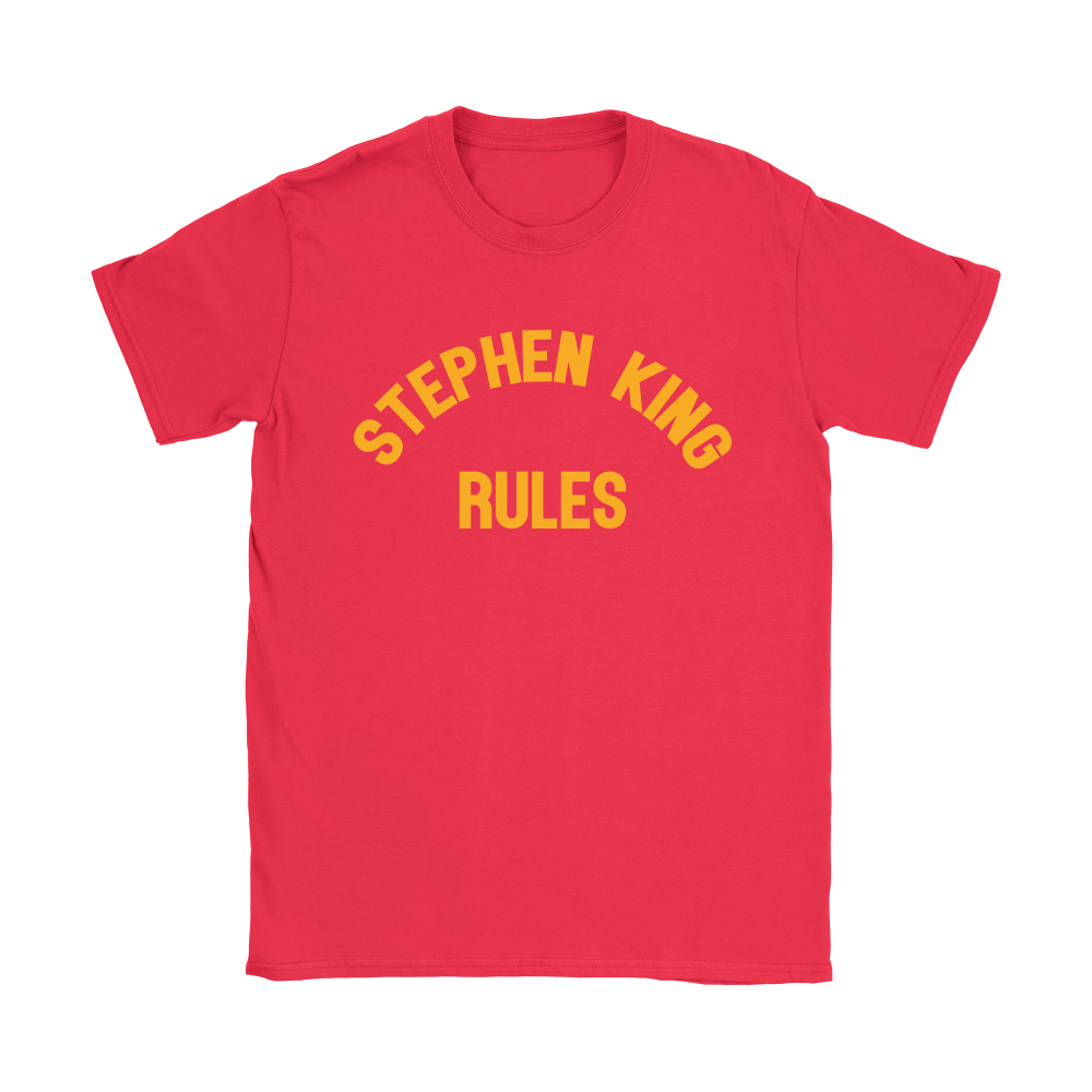 Stephen King Rules Book Lover Shirts 11