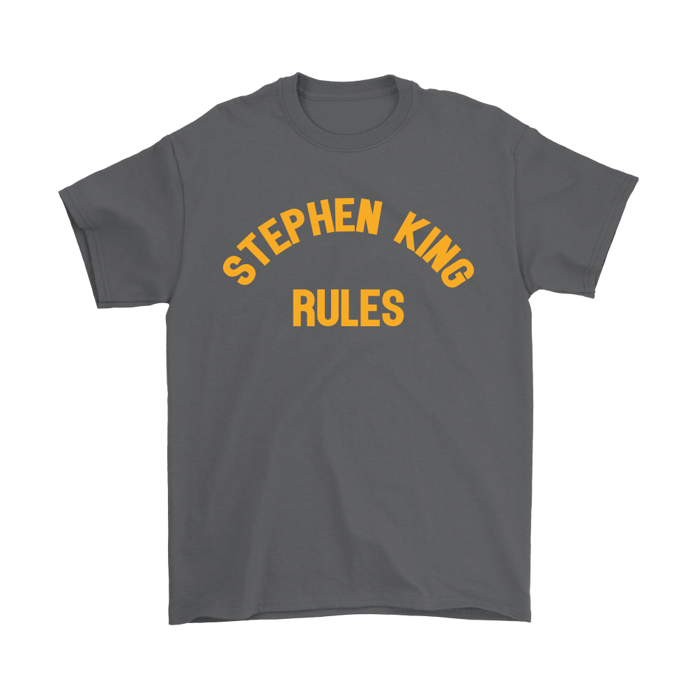 Stephen King Rules Book Lover Shirts 2