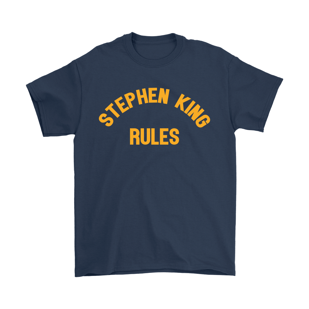 Stephen King Rules Book Lover Shirts 3