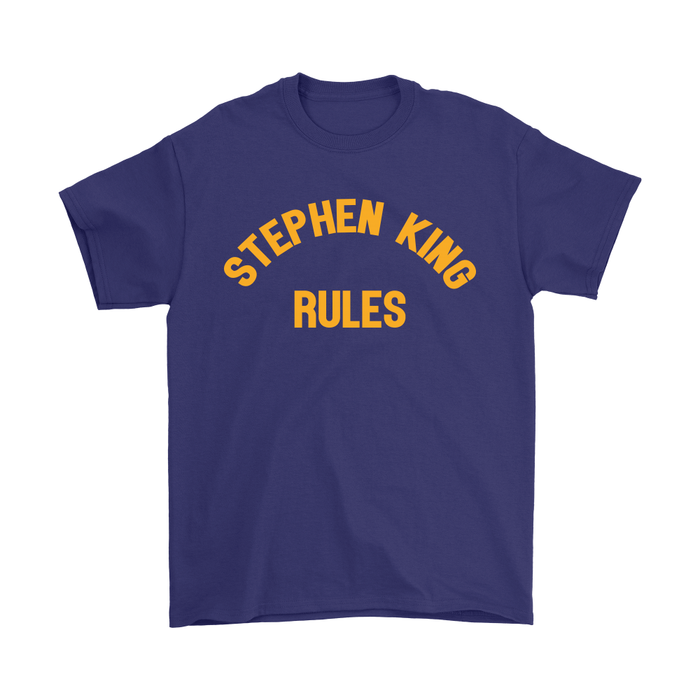 Stephen King Rules Book Lover Shirts 4