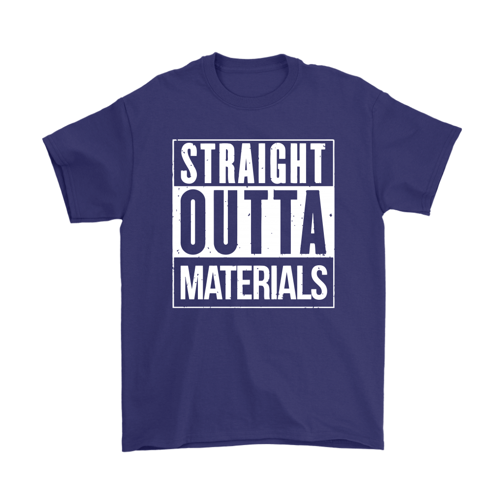 Straight Outta Materials Fortnite Battle Royale Shirts 4