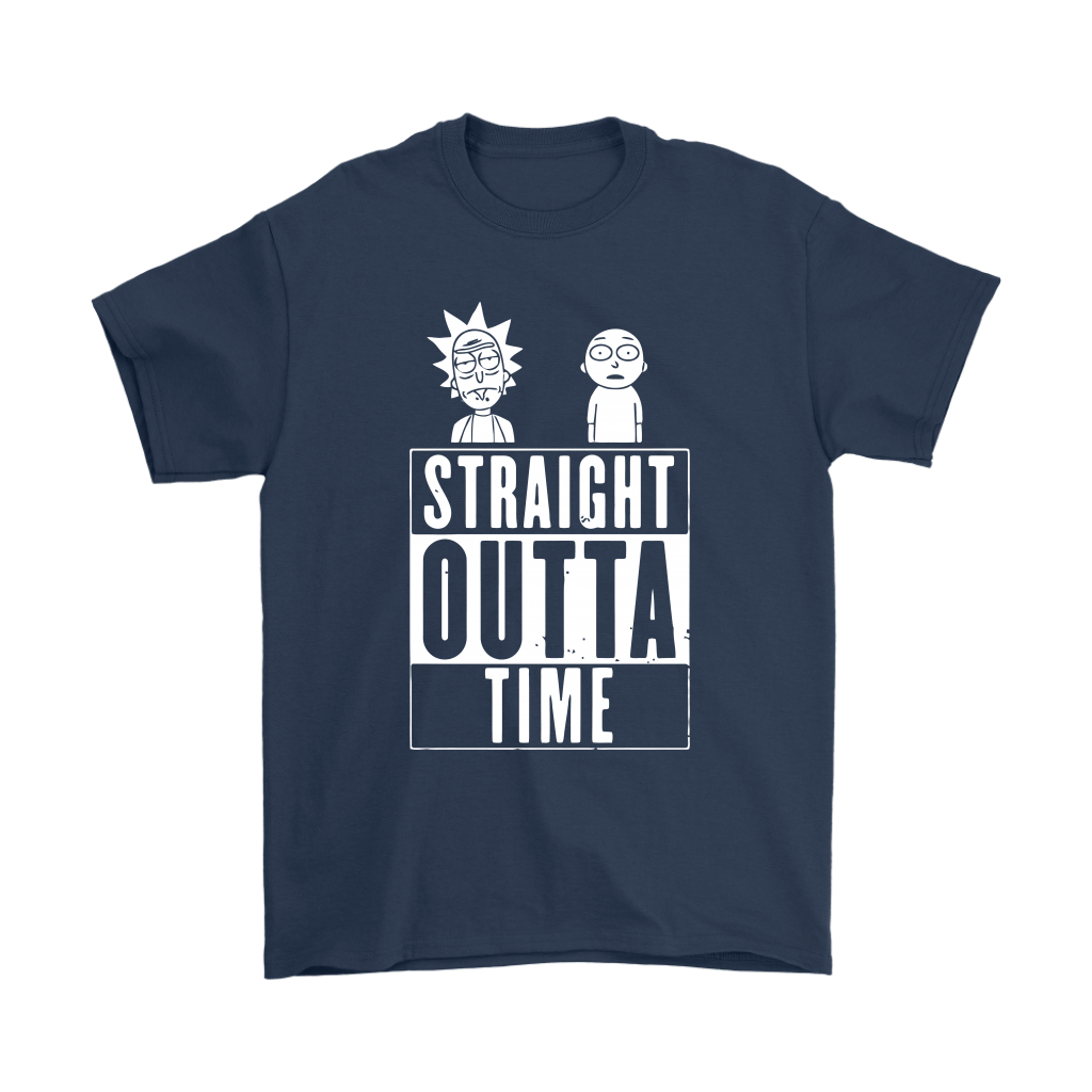 Straight Outta Time Rick And Morty Shirts 3