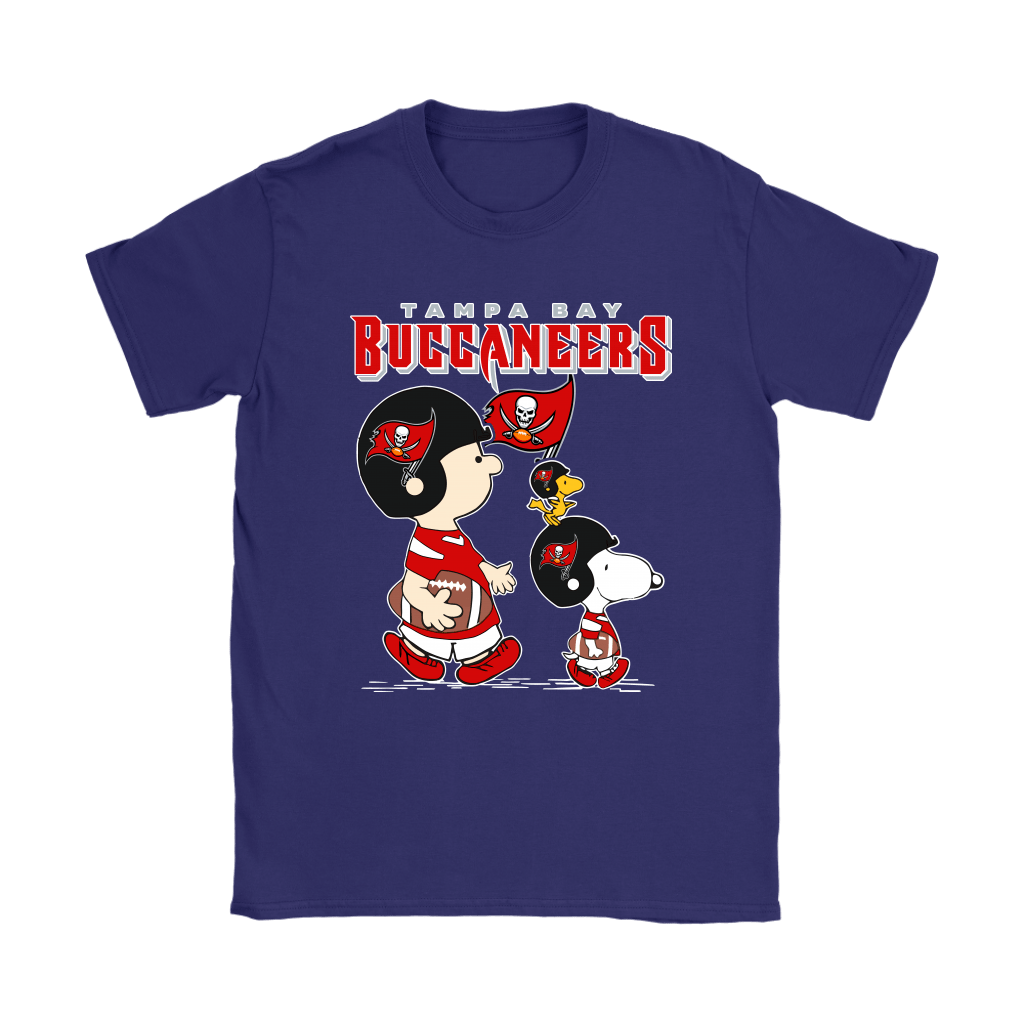 Tampa Bay Buccaneers Let's Play Football Together Snoopy NFL Shirts 21