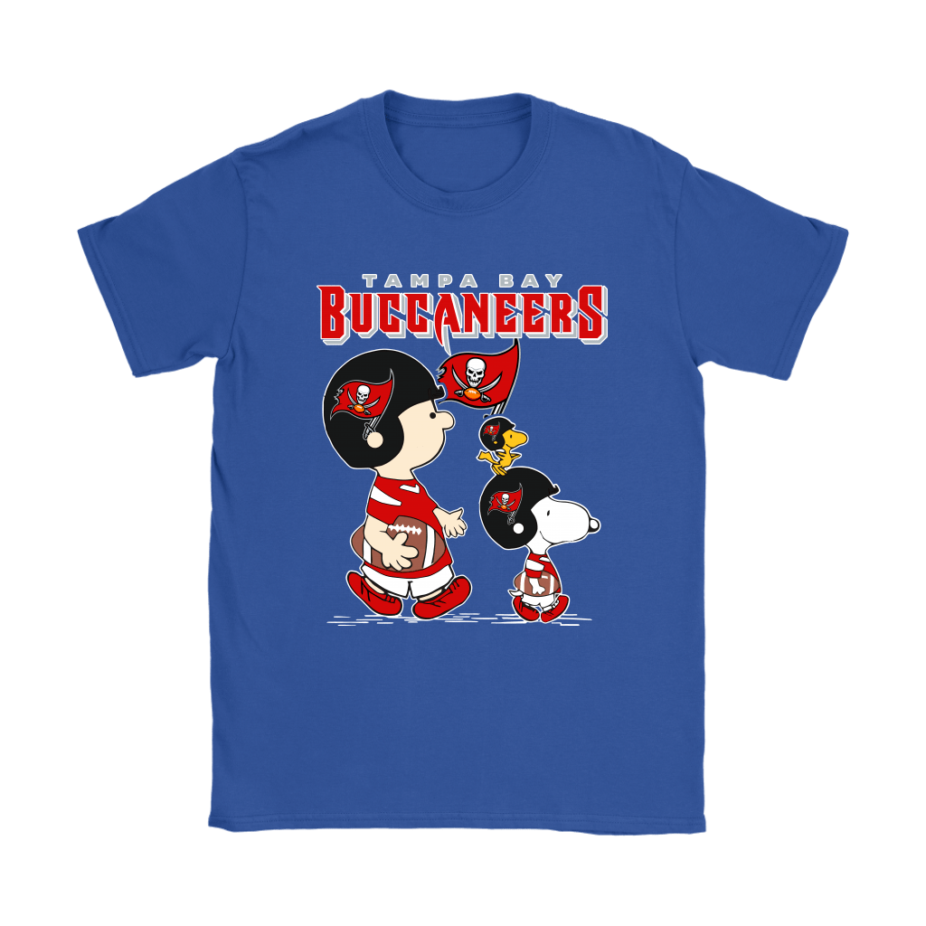 Tampa Bay Buccaneers Let's Play Football Together Snoopy NFL Shirts 22